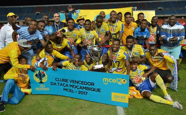 Costa do Sol vence Taça de Moçambique 2017